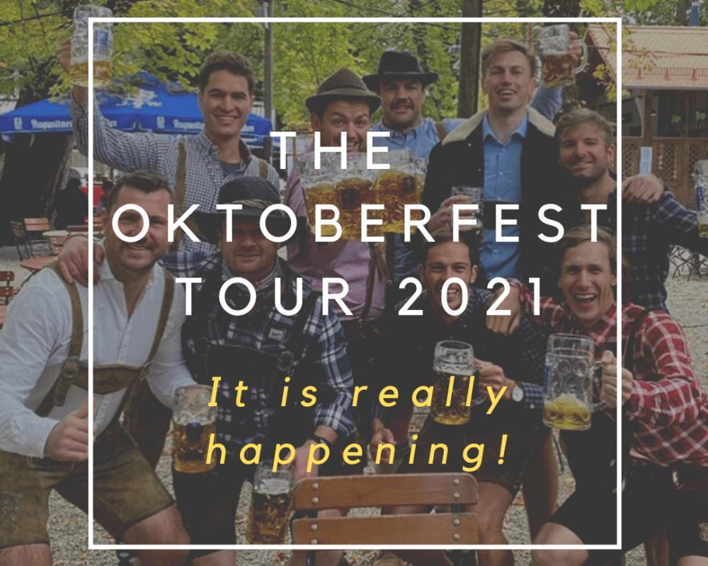 Oktoberfest tour munich 2021 logo